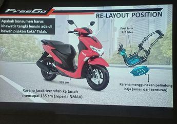 Bahaya Gak? Tangki Bensin Motor Yamaha FreeGo Ada Di Bawah Bro?
