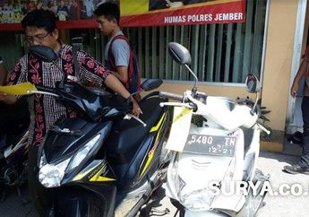 Awas Ada Polisi Gadungan Bilang Pinjam Motor Malah Dibawa Kabur