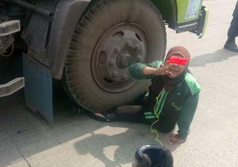 Berkaca Dari Kecelakaan Ojek Online di Tanjung Priok, Lakukan Ini Jika Pemotor Ketemu Truk Kontainer