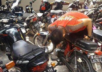 Puluhan Motor Diangkut Polisi Saat Razia Balap Liar di Madura