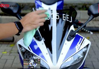 Video Test Cairan Ceramic Coating, Pembuktian Apa Bisa Bikin Bodi Motor Tahan Lecet