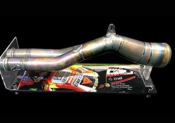 Sadis Knalpot Bekas VR46 Ini Dijual Seharga Dua Unit Yamaha Lexi S 125