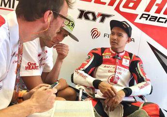 Sempat Terlindas di Moto2 Jerez 2019, Begini Kondisi Terkini Dimas Ekky Dari Kru Honda Team Asia