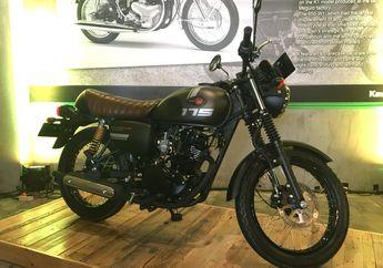 Kira-kira Bagaimana Ketersediaan Unit Motor Baru Kawasaki W175 Cafe?