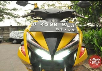 Tips Pasang Lampu Hazard, Pemilik Motor Yamaha Aerox 155 Nggak Minder Lagi