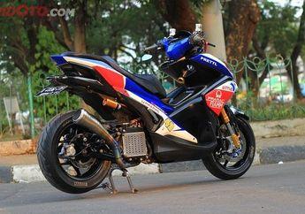 Melawan Takdir! Yamaha Aerox Copot Stiker Movistar, Langsung Ganti Pramac Racing