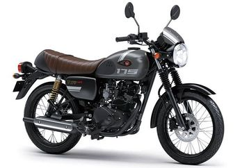 Beli Motor Kawasaki W175 Cafe, Langsung Dapat Helm Super Keren Bro...