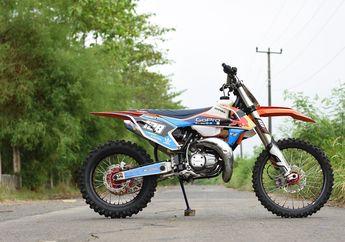Enggak Ada Kata Sayang, Motor Legendaris  Yamaha RX-King Dimodif Buat Trabasan