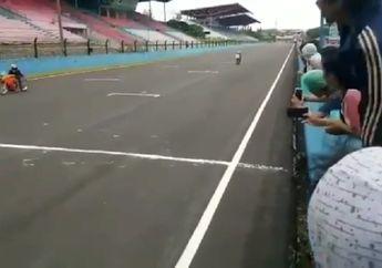 Edan! Video Detik-detik Raisa Menang di Partai Besar Balap 500 Meter