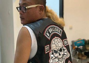 Sangar! Ini Loh Arti Tulisan di Rompi Bikinan Artis Sule Ala Klub Motor Harley