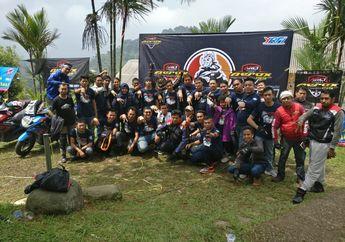 Meriah Cuy! Komunitas Motor Yamaha Aerox 155 Bikin Touring Gabungan