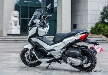 Sangar, Pesaing Honda X-ADV Bakal Meluncur, Tampang Gahar Penggaruk Tanah