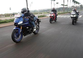 Komparasi Desain Motor Yamaha R25 VS Ninja 250 dan CBR250RR, Mana Paling Ganteng?