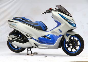 Usung Konsep Futuristik, Motor All New Honda PCX Ini Keren Banget