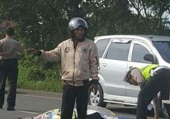 Hatinya Kemana? Pengendara Honda CB Ditabrak Sampai Tewas, Taksi Putih Langsung Kabur