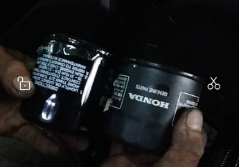 Mesin Motor Pakai Filter Oli Mobil, Mekanik Bengkel Resmi Bilang Gini