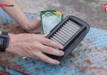 Video Tips Cara Membersihkan Filter Udara Berbahan Stainless yang Benar