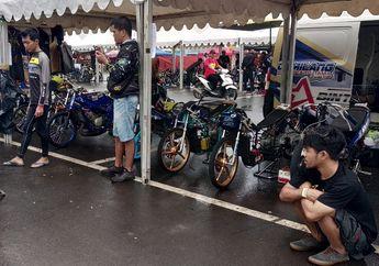 Joki Tenar Eko Chodox Ikut Komentari Sirkuit Basah di Drag Bike Cikarang 2019