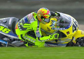 Pembalap Edan! Valentino Rossi Langsung Fastest Lap, Pertama Kali Bawa Motor Balap Honda NSR500