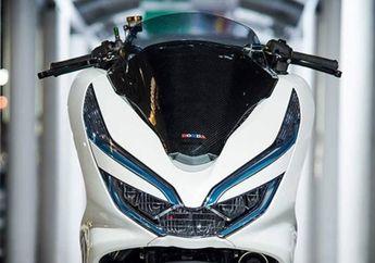 Berbekal Komponen Milik Sultan, Modifikasi Honda PCX 150 Sukses Tampil Kece dan Elegan