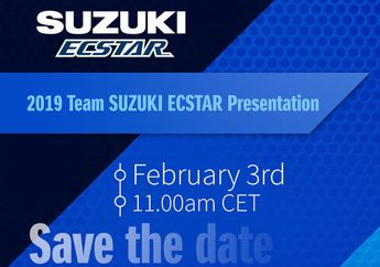 Sudah Fix, Seremoni Launching Tim Suzuki MotoGP Jadi Awal Februari