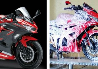 Waspada, Wanita Jangan Sampai Tertipu Tampang Motor Kawasaki Ninja 250 Ini