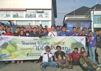 Bukan Turing Menembus 1000 Km, Komunitas NMAX Malah Jemput 1000 Durian