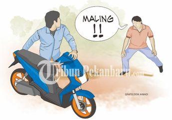 Enggak Nyangka, Pura-pura Jadi Tukang Bakso Taunya Bawa Kabur 8 Motor di Denpasar