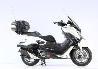 Dijejelin Headlamp HR-V, Yamaha NMAX Touring Ini Juaranya Surabaya