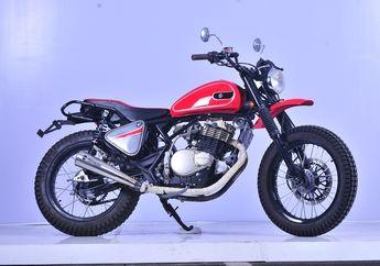 Bikin Pangling, Suzuki Thunder 250 Mendadak Jadi Scrambler