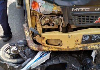 Siswi SD Naik Motor Boncengan, Kecelakaan Tabrak Truk, Siapa Salah?