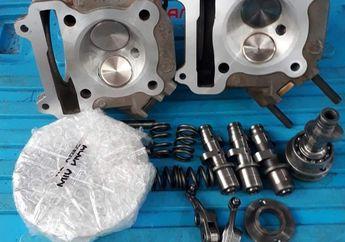 Ini Spek Kepala Silinder Motor Yamaha Mio 200 CC Untuk Dragbike