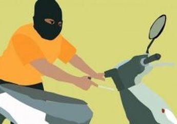 Doorrr, Tembakan Polisi Menggagalkan Aksi Pencuri Sepeda Motor di Lampung
