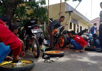 Asyik Kopdar, Polisi Amankan 7 Motor Sport, Cuma Gara-gara Ini