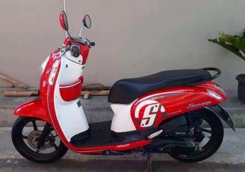 Bikin Melongo! Harga Bodi Set Honda Scoopy yang Dirusak Usai Ditilang Tembus Angka Segini