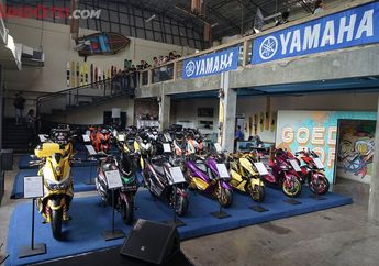 Panas, 45 Motor Modifikasi Se-Jabodetabek Bakal Tampil di Semifinal CustoMAXI x Yamaha Heritage Built Bekasi