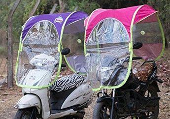 Pasang Kanopi di Motor Berbahaya, Pakar Safety Riding Sarankan Lebih Baik Pakai Ini