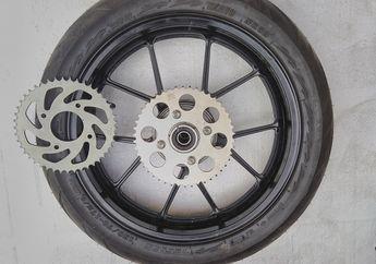 Tarikan Mantap Gir Belakang Suzuki GSX-R150 Naik 1 Mata Dan Pakai Gir 415