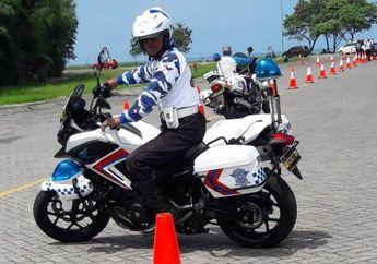 Latihan PJR Pakai Moge Buat Acara Millenial Road Safety Festival