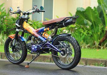 Bikin Merinding! Terlihat Simpel, Motor Ini Habiskan Ratusan Juta