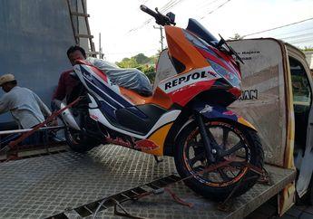Geger! Honda PCX Pakai Livery MotoGP Tim Repsol, Resmi Dijual Dealer?