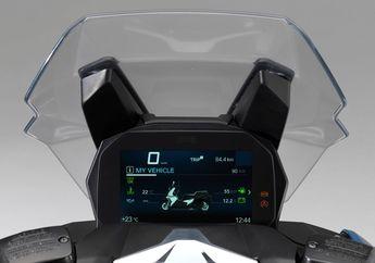 Canggihnya Speedometer Motor BMW C400X, Tampilan Mirip Smartphone!
