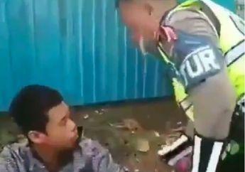 Tegang! Video Pemotor Ngamuk dan Pukul Polisi Gara-gara Ditegur, Tangan Langsung Diborgol Paksa