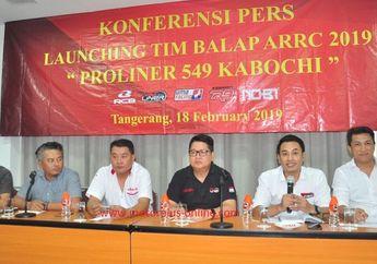 Knalpot Proliner Rangkul Tim Balap 549 Kabochi Menuju ARRC 2019