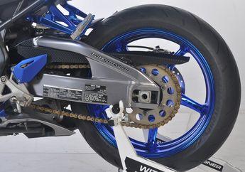 Mau Pasang Ban dan Pelek Lebar di Honda CBR250RR? Swing Arm Moge Bisa Jadi Pilihan