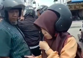 Salut, Video Pelajar Perempuan Nekat Kejar dan Tabrak Pelaku Jambret, Mulut Korban Sampai Berdarah