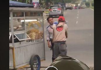 Parkiran di Bandung Geger! Video Oknum Anggota Dishub Aniaya Tukang Parkir, Gara-gara Minta Jatah