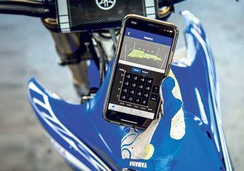 Konek Hape Sudah Biasa, Motor Trail Yamaha Bisa Setting Mesin Dari Smartphone