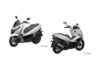 Bocor! Desain Motor Matic Suzuki Calon Lawan Yamaha NMAX dan Honda PCX, Mirip Motor Apa Nih?