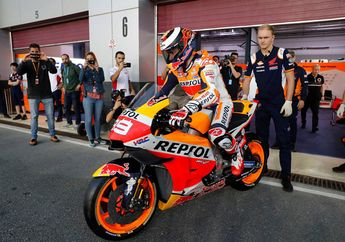 Paling Sibuk Sendiri, Video Lorenzo Jajal Motor MotoGP di Tes Qatar